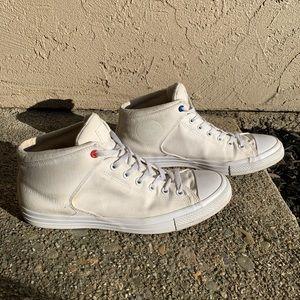 Men's White Converse Hightops